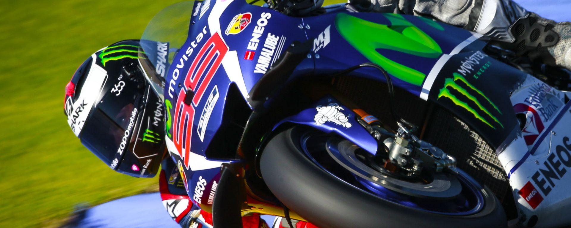 MotoGP Valencia  2016: Jorge Lorenzo in pole, davanti a Marquez e Rossi