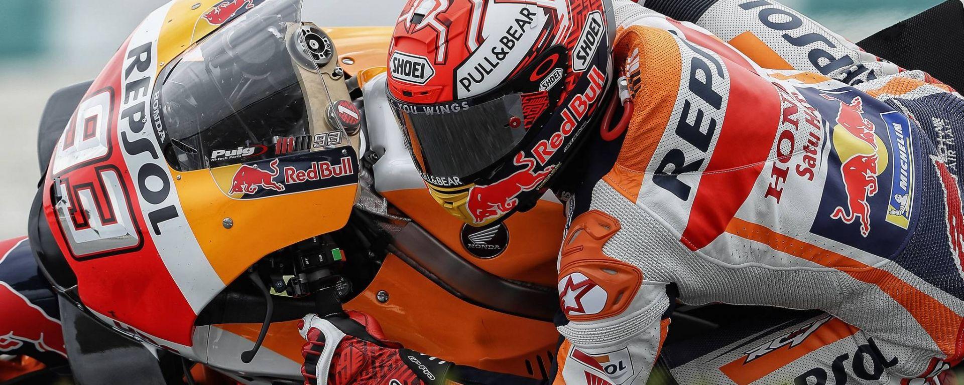 Motogp Valencia 2018: Marquez il più veloce del Venerdì
