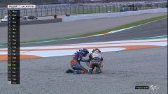 MotoGP Valencia 2019, Johann Zarco (Honda) e Iker Lecuona (KTM)