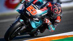 MotoGP Valencia FP2: primo Quartararo, Rossi ancora giù