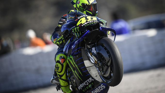 MotoGP Valencia 2019, Ricardo Tormo Cheste: Valentino Rossi (Yamaha)