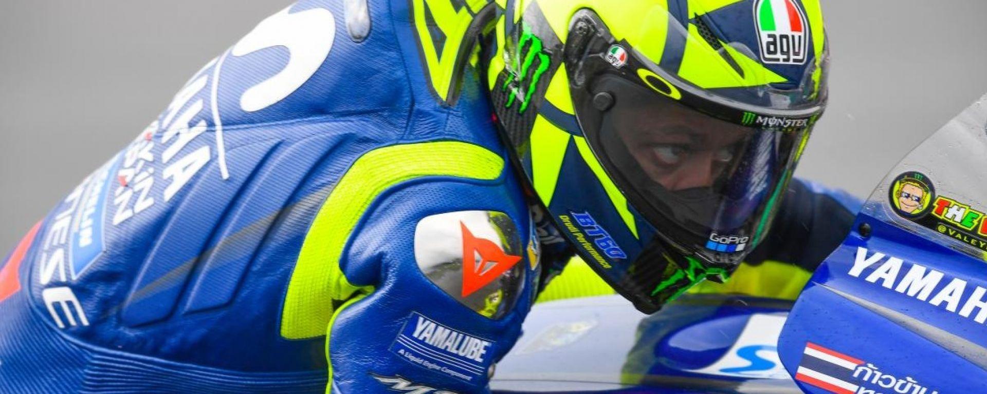 MotoGP, Valentino Rossi in sella alla sua Yamaha