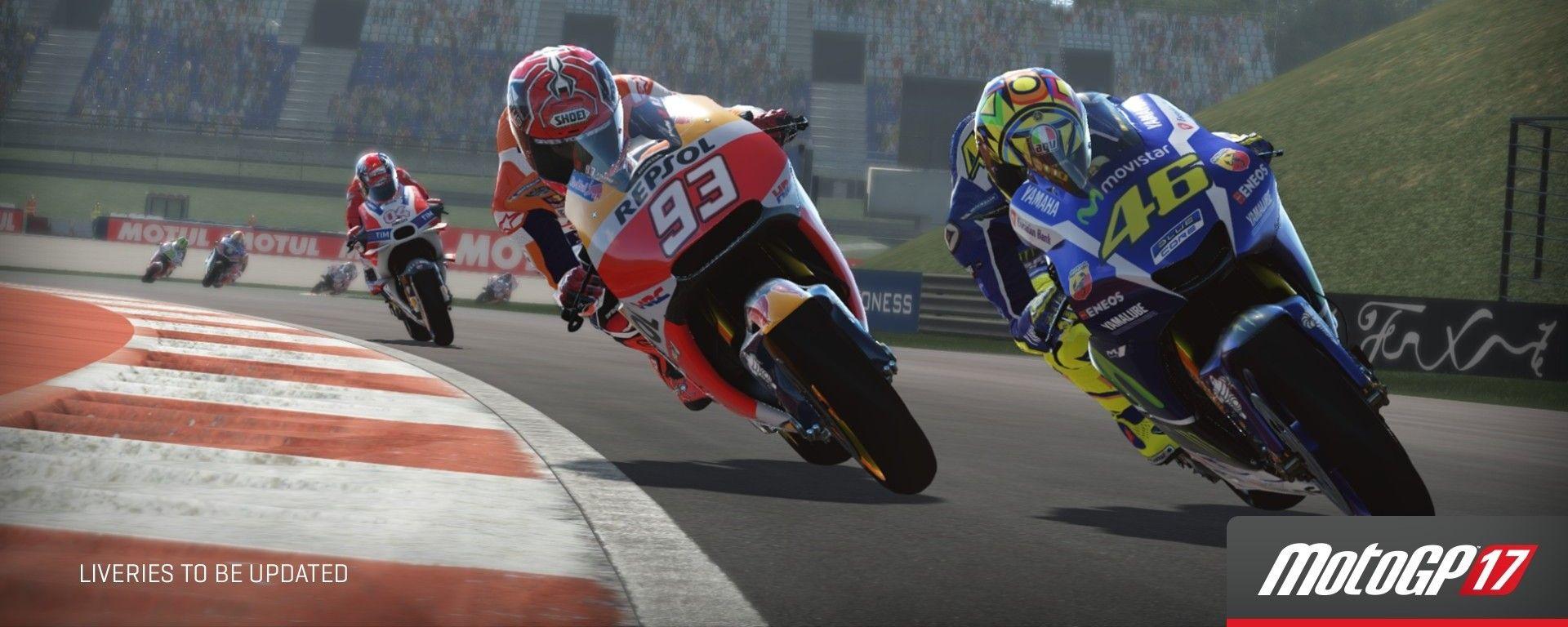 MotoGP17 eSport Championship: schermata 1