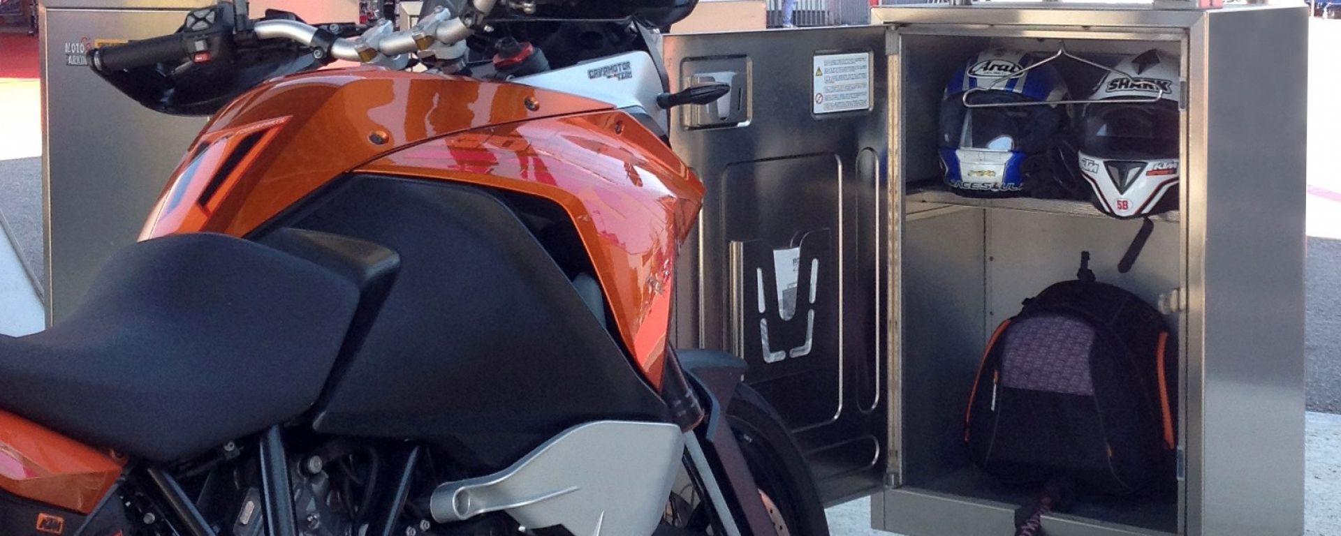 MotoParking, il parcheggio intelligente