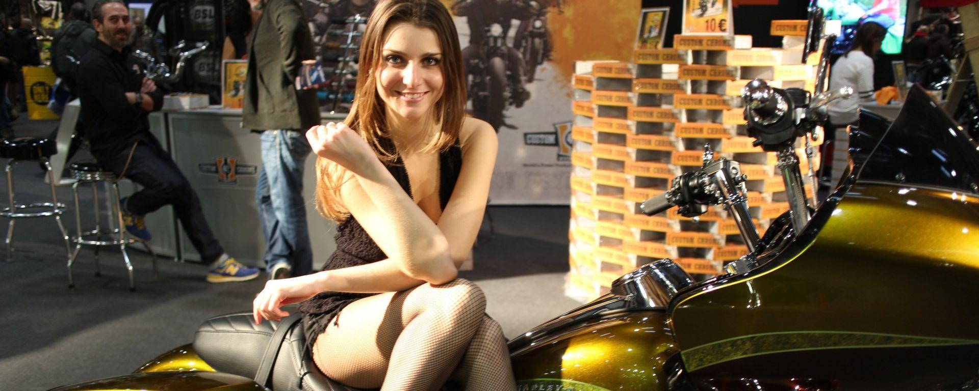 Motor Bike Expo 2015, cartoline dalla fiera