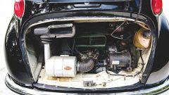 motore montato sul retro