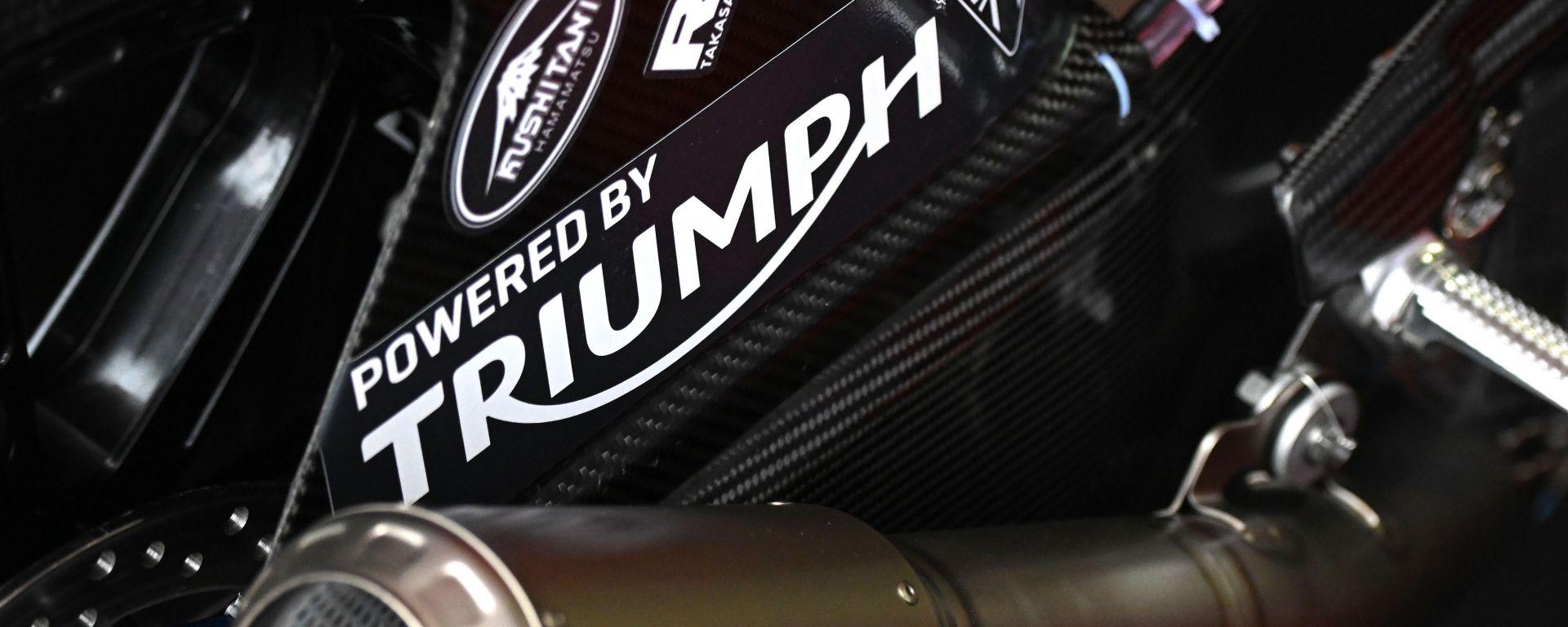 Motore Triumph Triple 765 Moto2