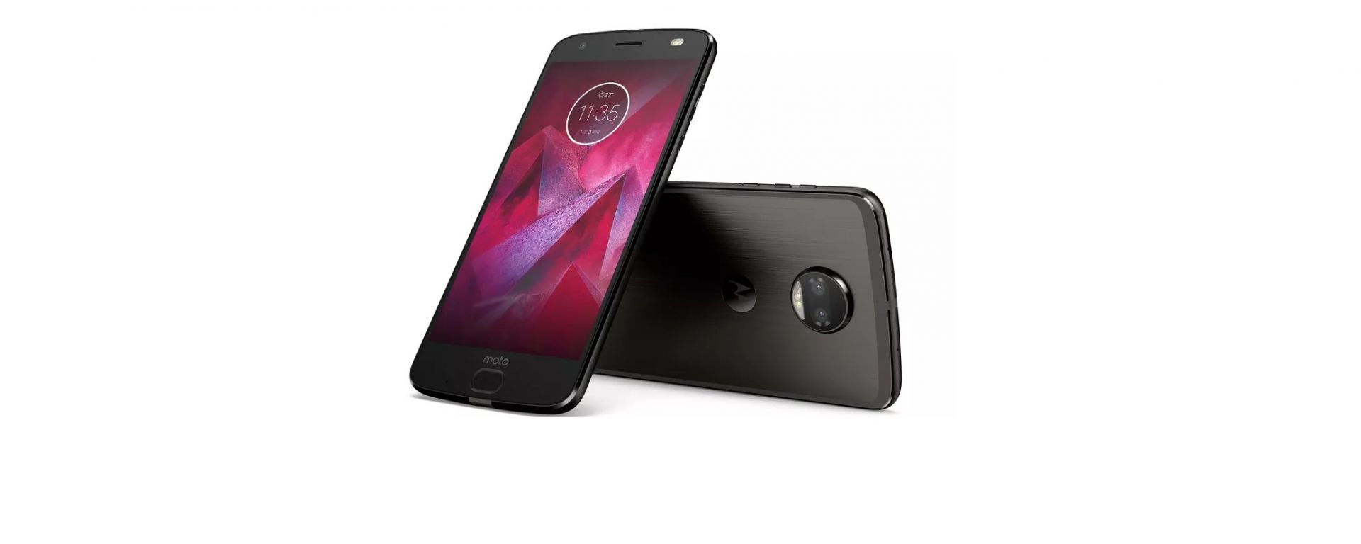 Motorola Moto Z2 Force nero