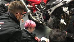 Motorsport Technical School: si lavora su una moto