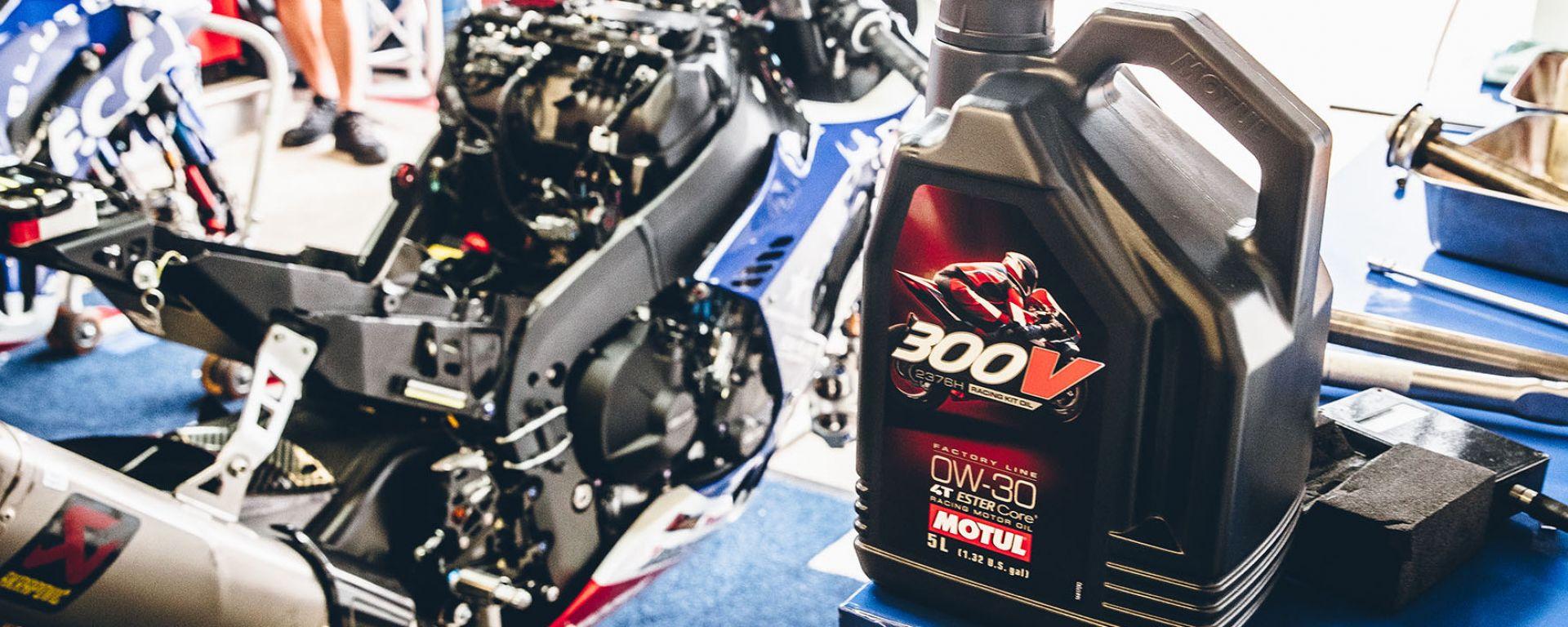Motul 300V, l'olio motore racing per Honda CBR1000RR-R Fireblade