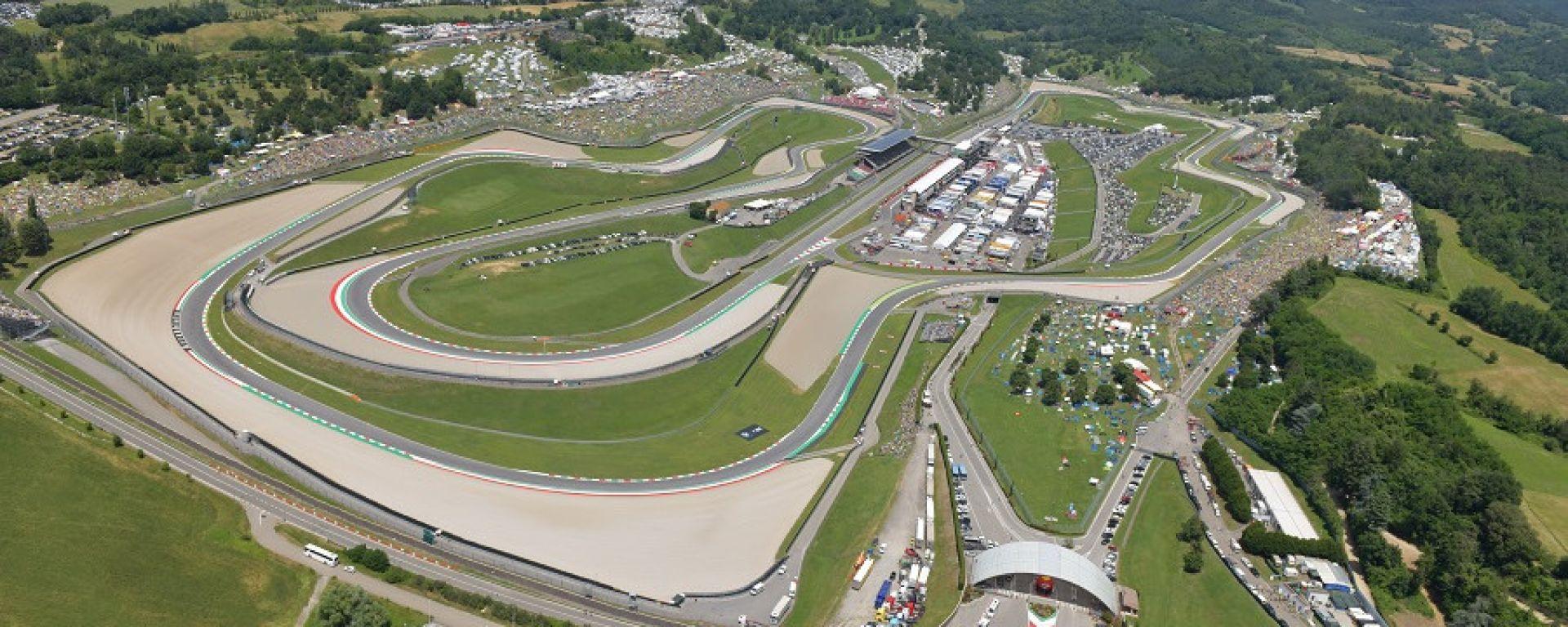 Mugello lancia la sfida a Monza per il GP Italia