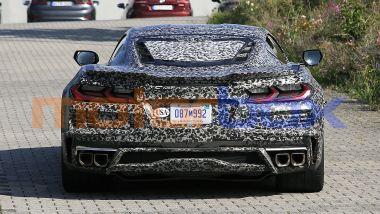 Muletto della Chevrolet Corvette E-Ray hybrid, il posteriore