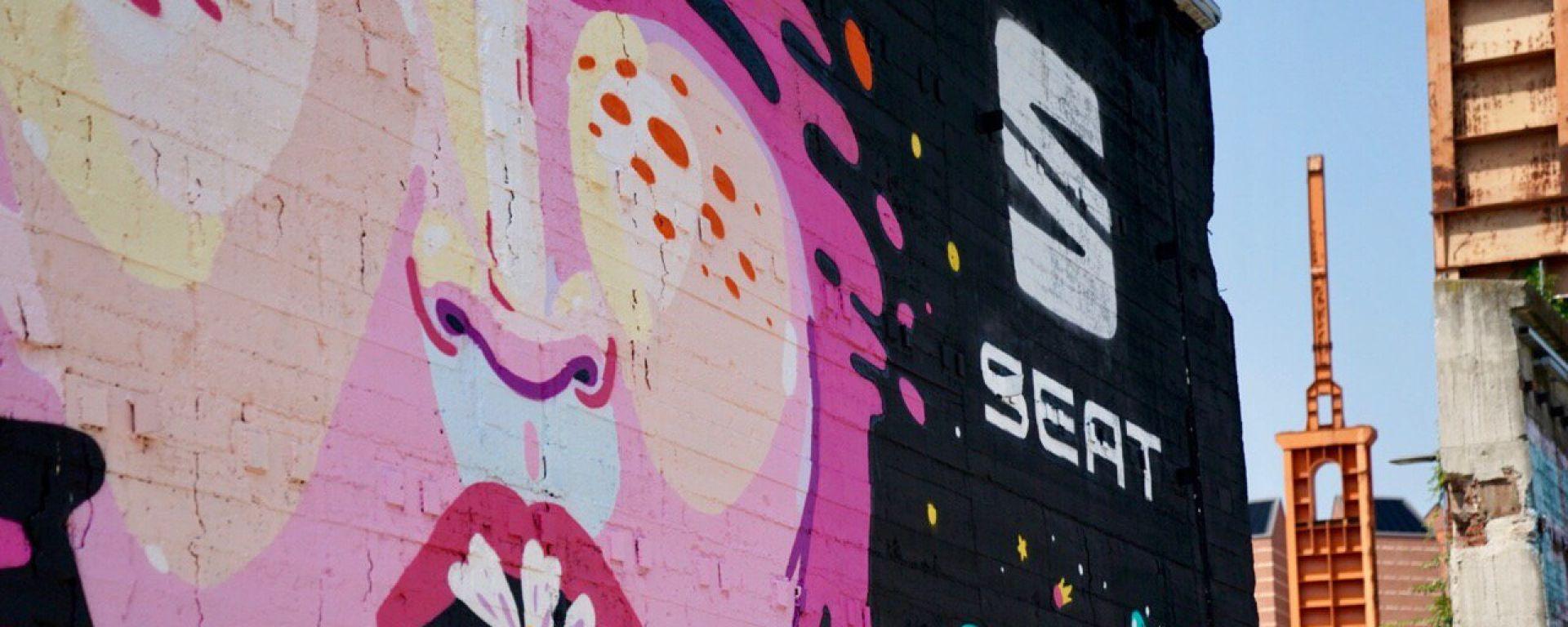 Murales SEAT al Kappa FuturFestival 2019
