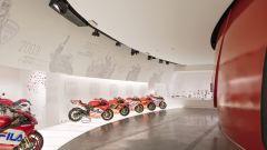 Museo Ducati, la stanza delle corse