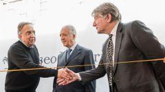 Museo Ferrari di Maranello: all'inaugurazione dei nuovi spazi, anche l'ad Sergio Marchionne