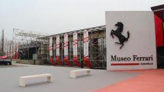 Museo Ferrari Maranello, l'ingresso
