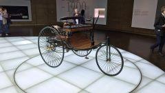 Museo Mercedes di Stoccarda: il triciclo di Benz, primo esempio di automobile