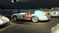 Museo Mercedes di Stoccarda: la Mercedes 300SRL con la quale Stirling Moss vince la MilleMiglia del 1955