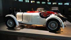 Museo Mercedes di Stoccarda: la Mercedes SSKL spider, prima auto straniera a vincere la MilleMiglia