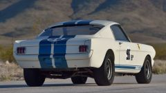 Mustang Shelby GT350R: 3/4 posteriore
