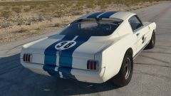 Mustang Shelby GT350R: il posteriore