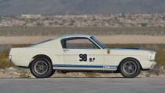 Mustang Shelby GT350R: vista laterale