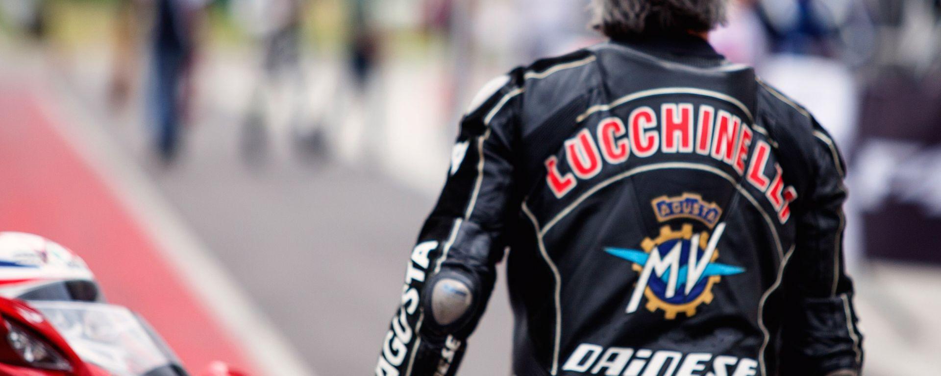 MV Agusta: a scuola con Lucchinelli
