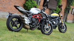 Confronto naked: MV Agusta Brutale 800 sfida Yamaha XSR900