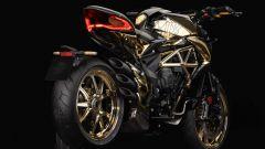 MV Agusta Drgster Shining Gold: special in pezzo unico