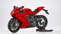 MV Agusta F3 Rosso 2021 come cambia