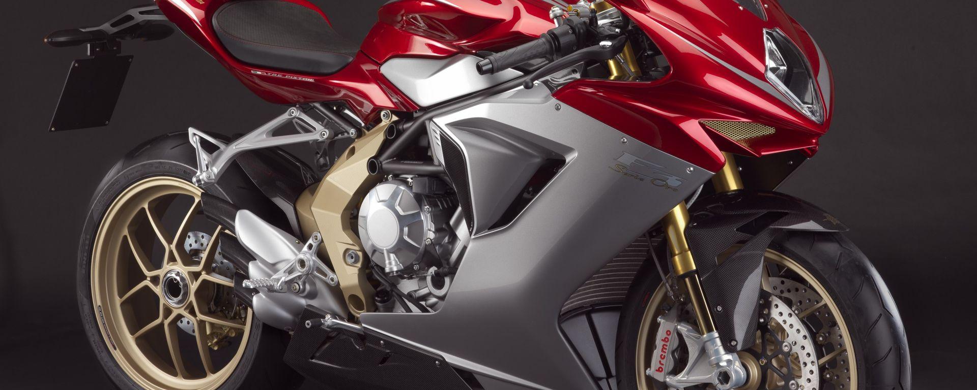 MV Agusta In produzione la F3 Serie Oro