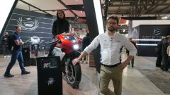 MV Agusta Superveloce 800 a EICMA in veste definitiva. Video - Immagine: 2
