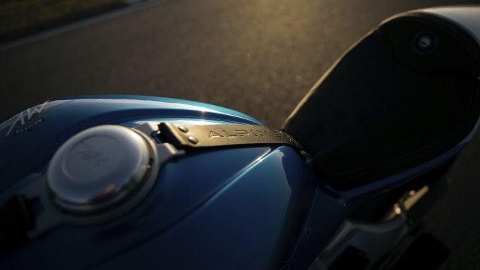 MV Agusta Superveloce 800 Alpine, che celebra la A110