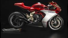 MV Agusta Superveloce 800 concept più bella a Villa d'Este