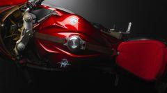 MV Agusta Superveloce 800  dettaglio dall'alto