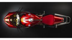 MV Agusta Superveloce 800 vista dall'alto