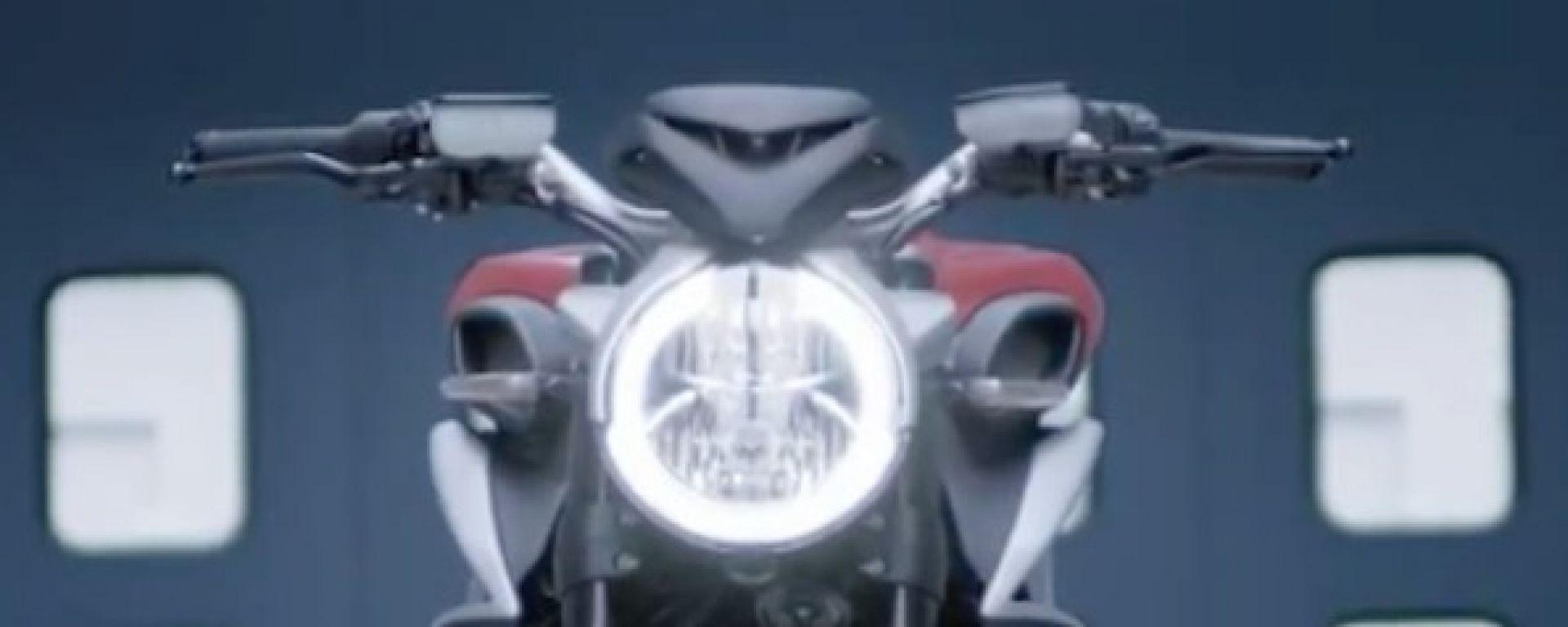 MV Agusta: un video rivela la nuova Brutale 800