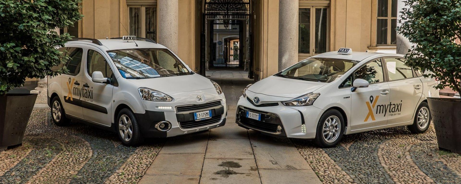 La città di Torino accoglie mytaxi, l'app per i taxi più grande al mondo
