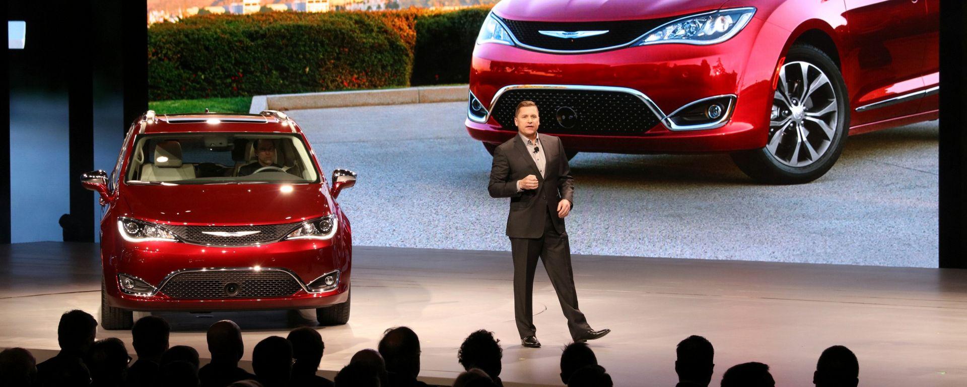NAIAS 2016: Chrysler Pacifica