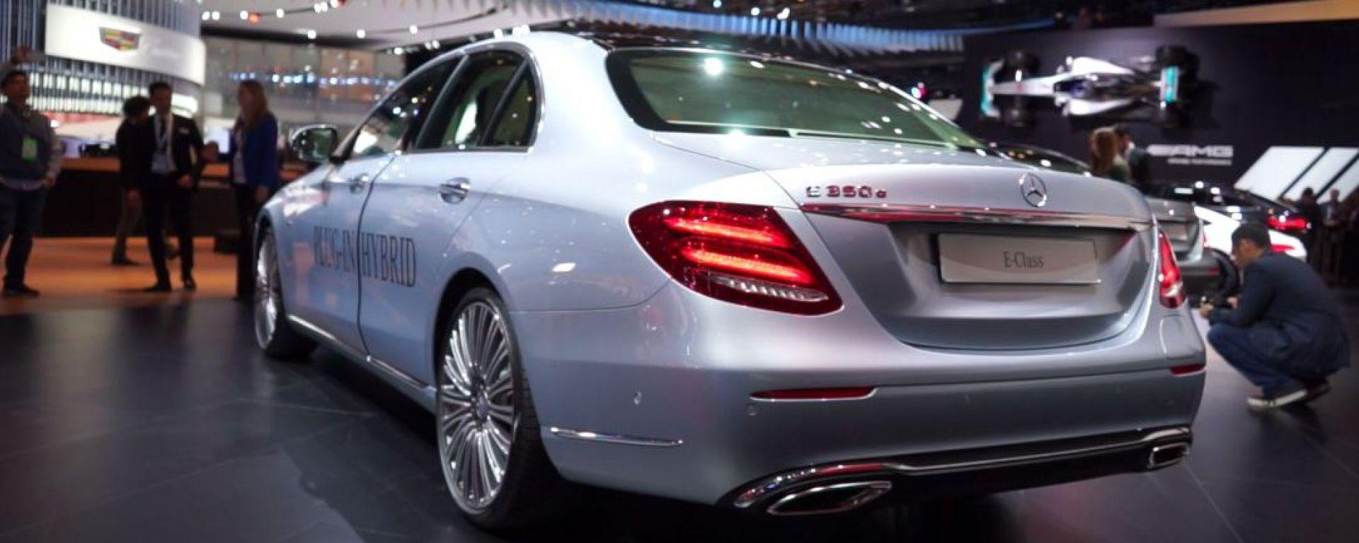NAIAS 2016: Mercedes Classe E