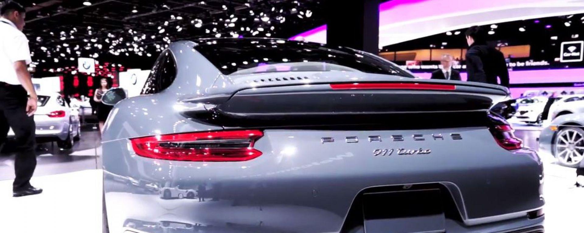 NAIAS 2016: Porsche 911 Turbo e Turbo S