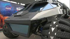 NASA Mars Rover Concept Vehicle: dettaglio della sospensione