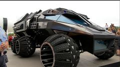 NASA Mars Rover Concept Vehicle: vista 3/4 anteriore