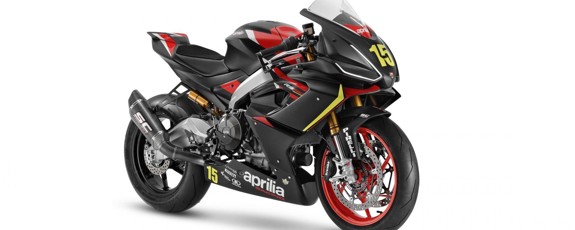 Nasce il Trofeo Aprilia Racing RS 660