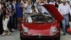 Nata nel 1967, l'Alfa Romeo 33 Stradale è spinta da un V8 da 2.0 litri