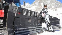 Natale in moto: Luca con casco Kappa, completo Bering e stivali Stylmartin