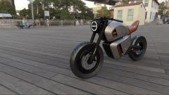 Nawa Racer: tecnologia ibrida per le batterie di questa moto elettrica