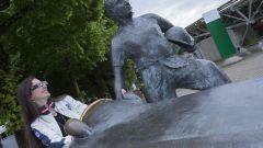 Negli Augmented Reality Tour dell'autodromo di Monza Fangio prende vita