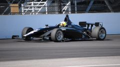 Negrao al volante della monoposto di Indy Lights