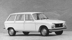 Nel 1970 l'esordio della PEUGEOT 304 Break, con la sua forma da wagon